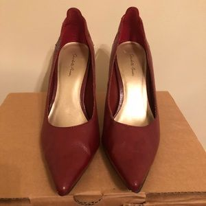 Charolotte Russe Orchard Red Heels
